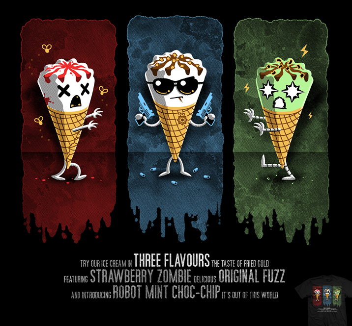 Watch the Three-Flavours Cornetto Trilogy in one day! - Nerd Reactor